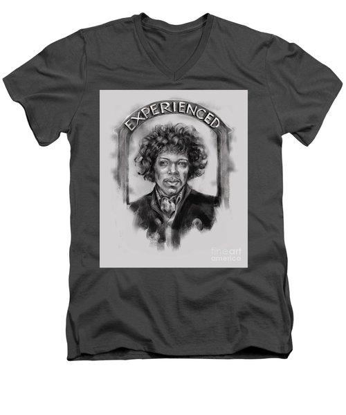 Experienced Men's V-Neck T-Shirt