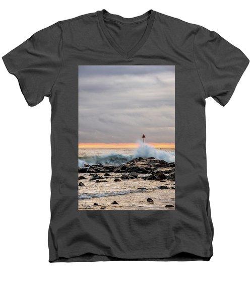 Explosive Sea 1 Men's V-Neck T-Shirt
