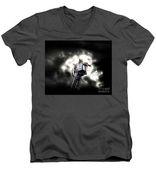 Eye In The Sky Men's V-Neck T-Shirt