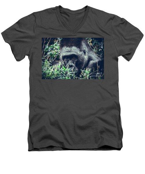 Eyes Speak Men's V-Neck T-Shirt