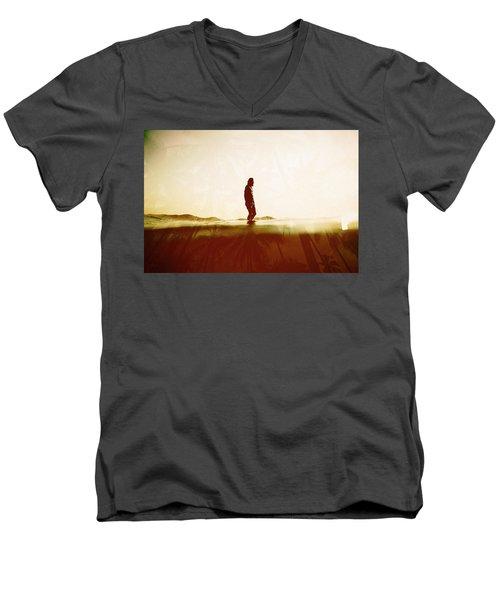 Face The Sun 2 Men's V-Neck T-Shirt