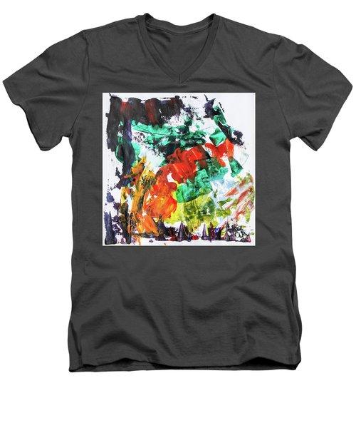 Fall Into Spring Men's V-Neck T-Shirt