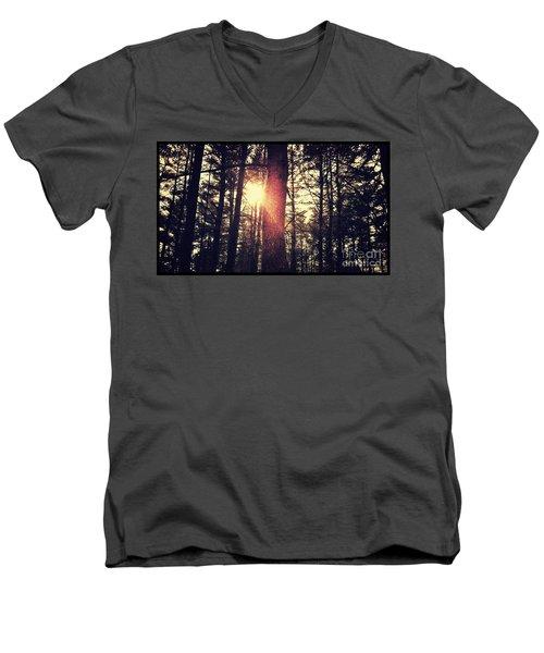 Fall Of Light Men's V-Neck T-Shirt