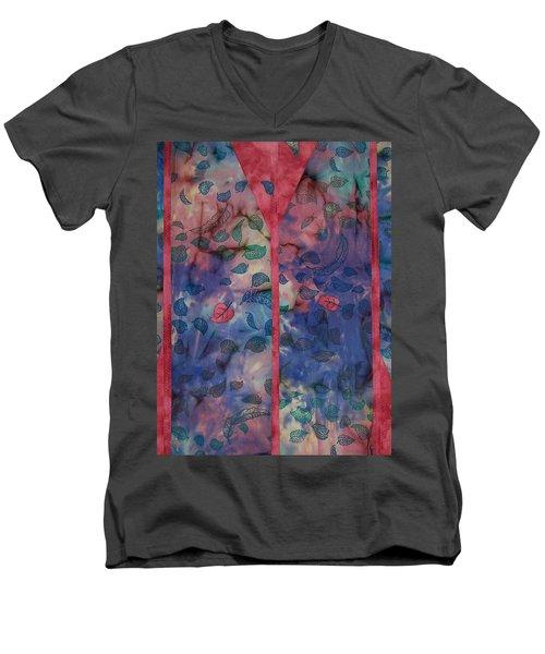 Falling  Floating Men's V-Neck T-Shirt