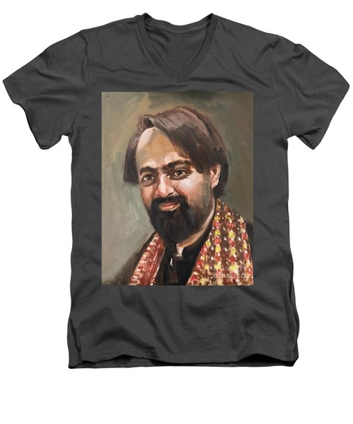 Farhan Shah Men's V-Neck T-Shirt