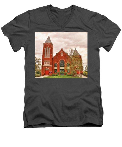 Farmville United Methodist Church Farmville Virginia Men's V-Neck T-Shirt