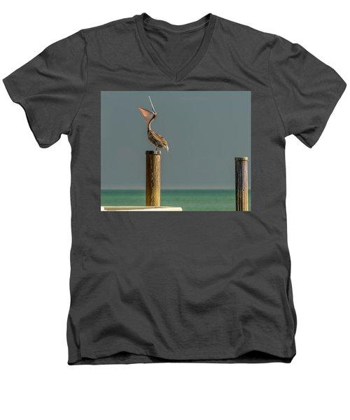 Feed Me Men's V-Neck T-Shirt