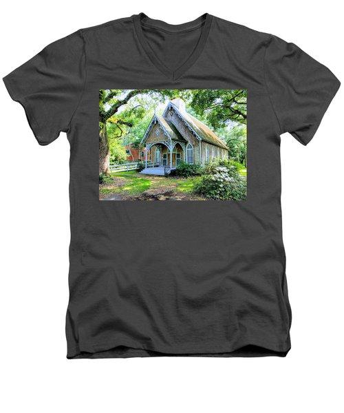 Feel At Ease Men's V-Neck T-Shirt