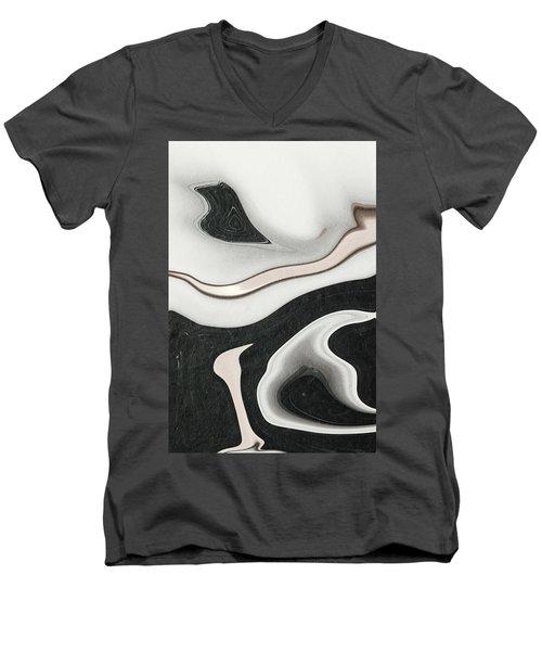 Feminine Iv Men's V-Neck T-Shirt