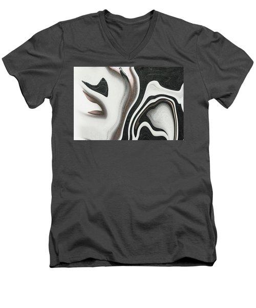 Feminine V Men's V-Neck T-Shirt