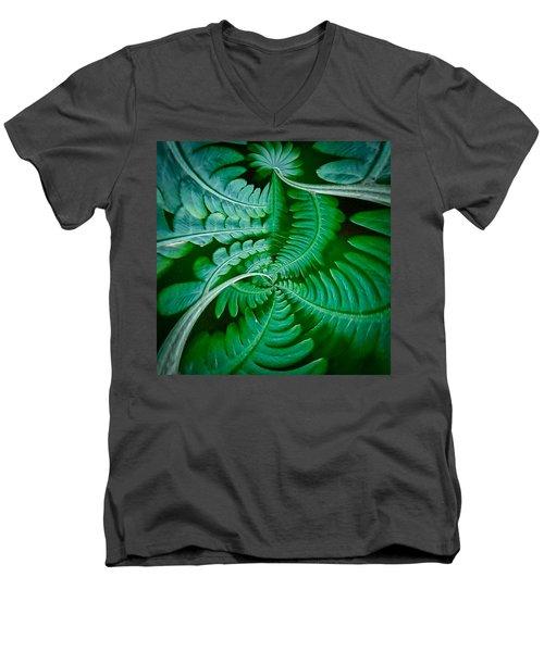 Fern Dance Men's V-Neck T-Shirt