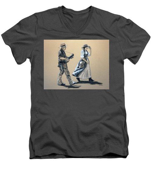 Fiddler's Daughter Men's V-Neck T-Shirt