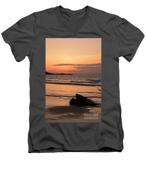 Fine Art Sunset Collection Men's V-Neck T-Shirt