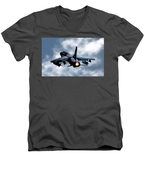 First In Last Out Men's V-Neck T-Shirt