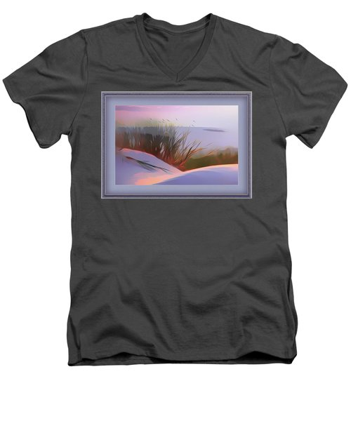 First Light Men's V-Neck T-Shirt