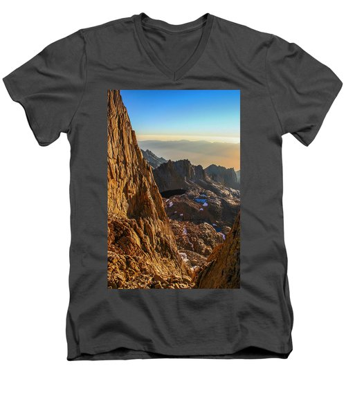 First Sunlight Men's V-Neck T-Shirt