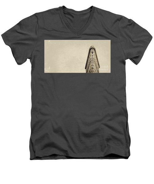 Flatiron Men's V-Neck T-Shirt