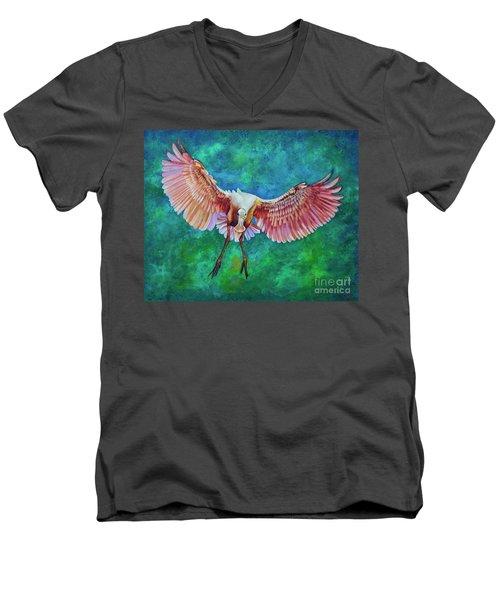 Fledgling Flight Men's V-Neck T-Shirt