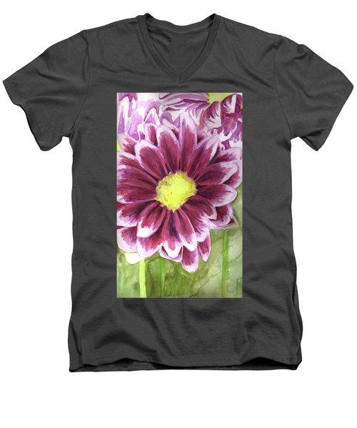 Flor Men's V-Neck T-Shirt