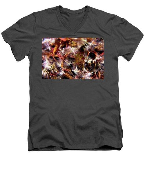 Flower Seeds-1 Men's V-Neck T-Shirt