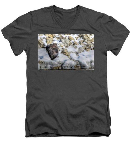 Flyin Men's V-Neck T-Shirt