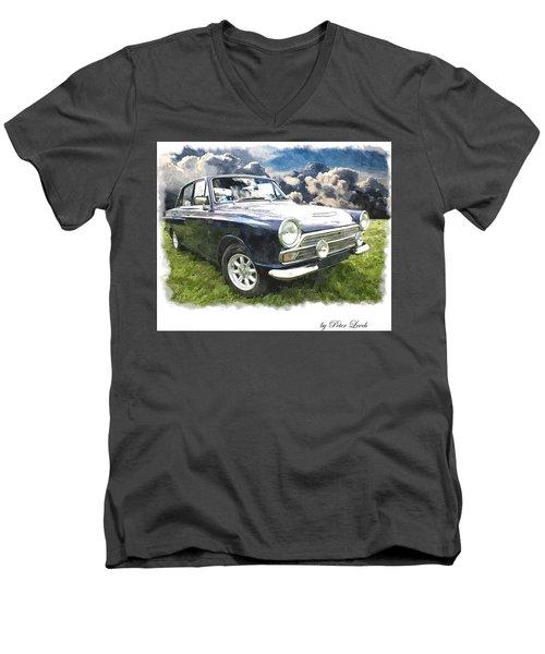 Ford Cortina 1 Men's V-Neck T-Shirt