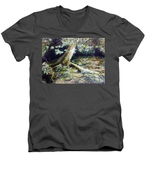 Forest Edge Men's V-Neck T-Shirt