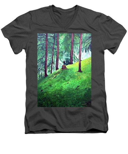Forest Through The Trees Men's V-Neck T-Shirt