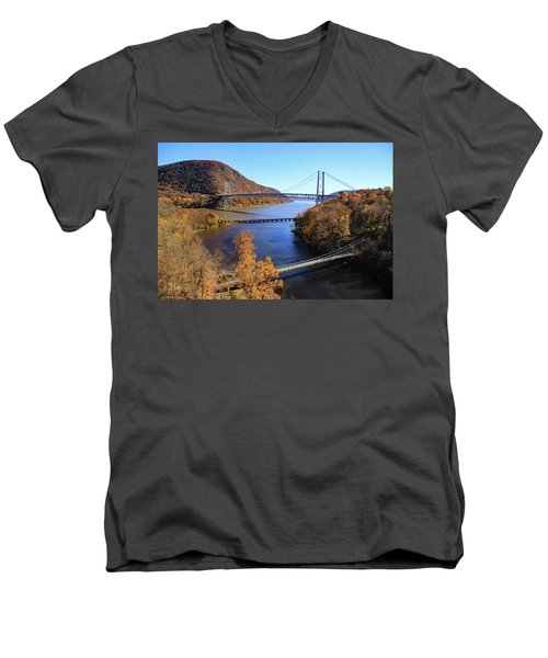 Four Ways To Travel Men's V-Neck T-Shirt