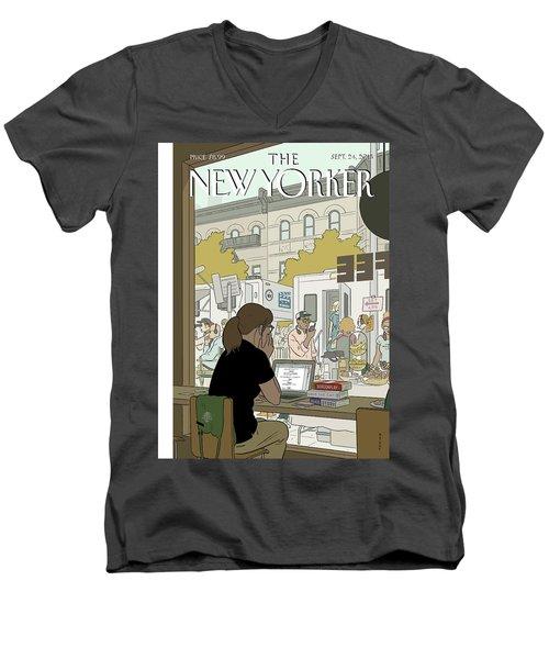 Fourth Wall Men's V-Neck T-Shirt