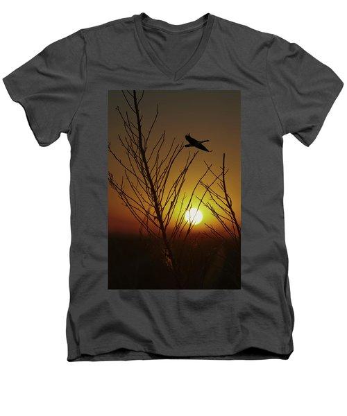 Fowl Morning Men's V-Neck T-Shirt