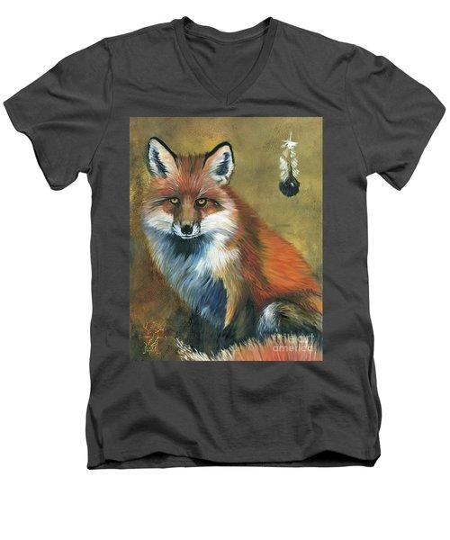 Fox Shows The Way Men's V-Neck T-Shirt