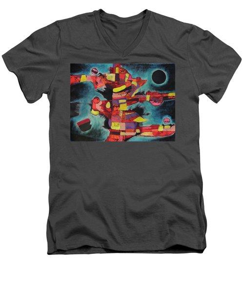 Fractured Fire Men's V-Neck T-Shirt