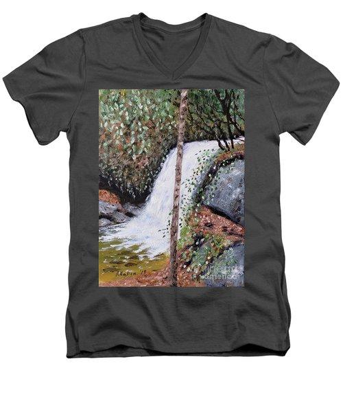 Frolictown Falls Men's V-Neck T-Shirt