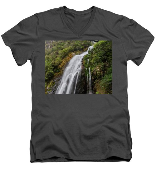 From Great Heights Men's V-Neck T-Shirt