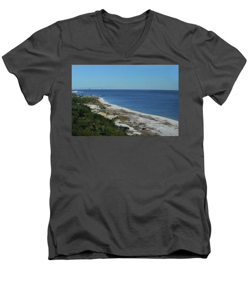 From The Lighthouse Men's V-Neck T-Shirt