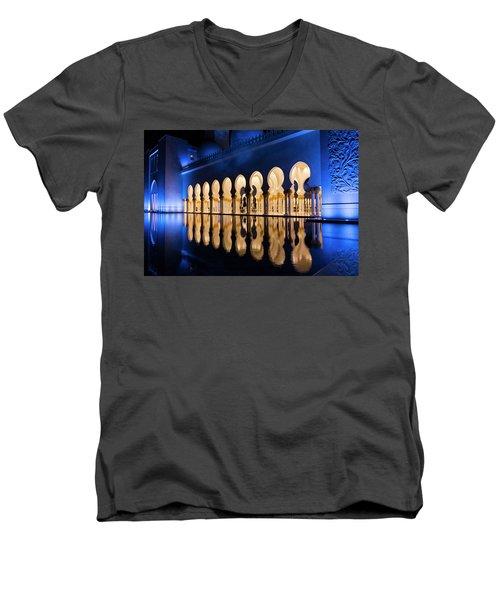 From The Outside In Men's V-Neck T-Shirt