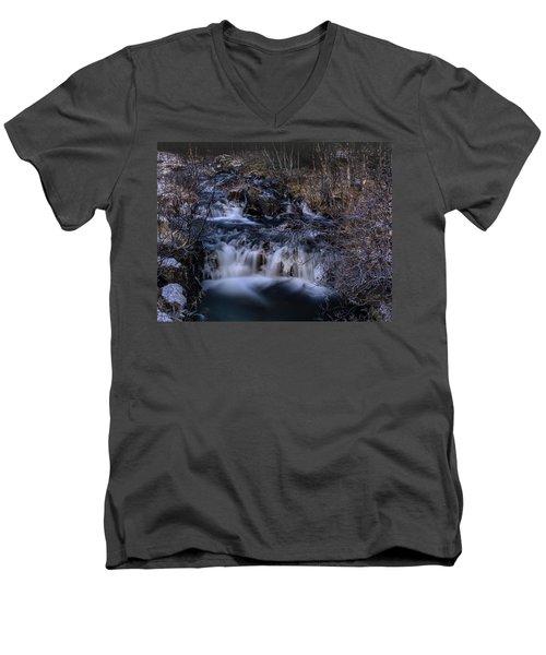 Frozen River Men's V-Neck T-Shirt