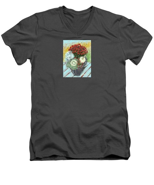Fruits Of Fall Men's V-Neck T-Shirt