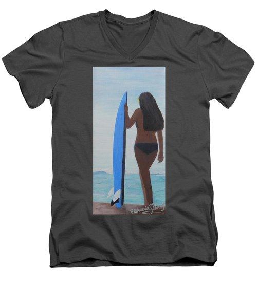 Game Plan Men's V-Neck T-Shirt