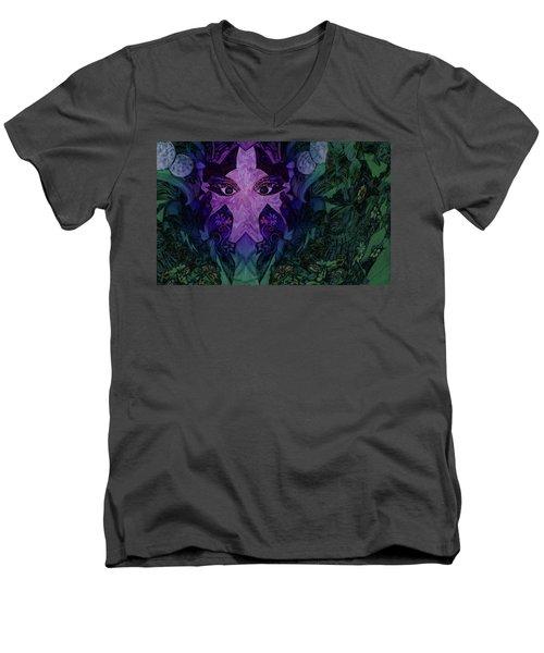 Garden Eyes Men's V-Neck T-Shirt
