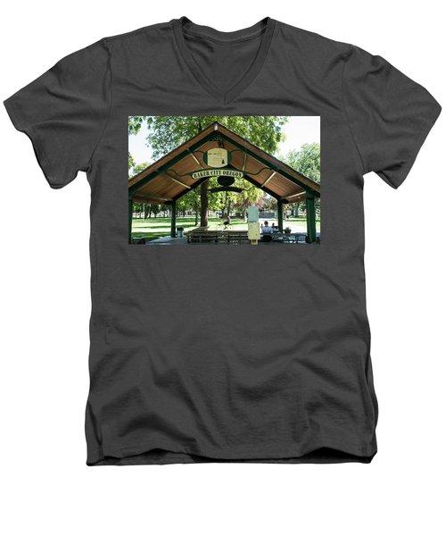 Geiser Pollman Park Shelter Men's V-Neck T-Shirt