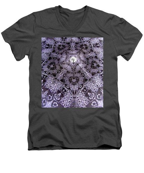 Geo Men's V-Neck T-Shirt