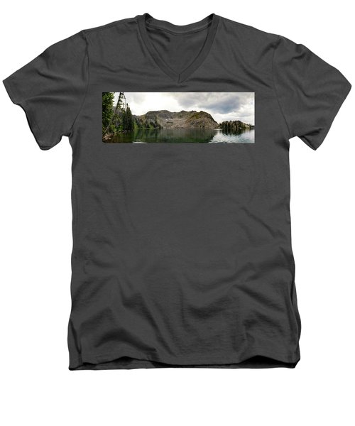 Gilpin Lake Men's V-Neck T-Shirt