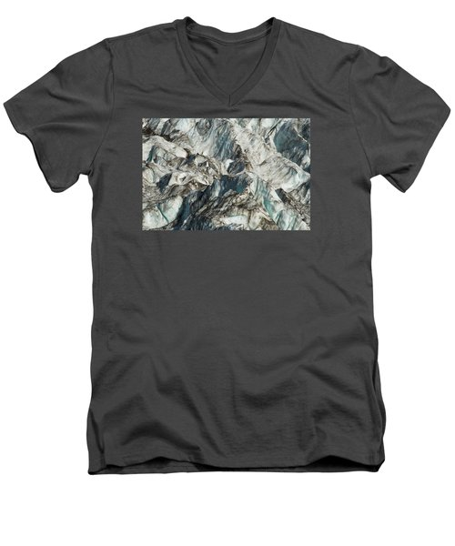 Glacier Ice 1 Men's V-Neck T-Shirt