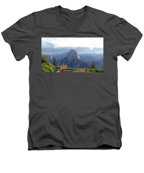 Glacier Point Men's V-Neck T-Shirt