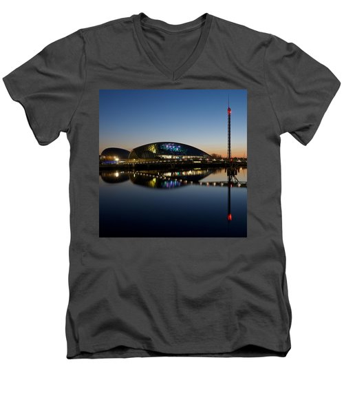 Glasgow Science Center Men's V-Neck T-Shirt