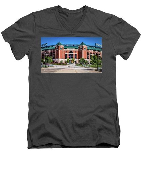 Globe Life Park In Arlington Men's V-Neck T-Shirt