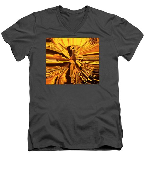 Golden Circle Men's V-Neck T-Shirt