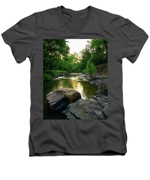 Golden Creek Men's V-Neck T-Shirt